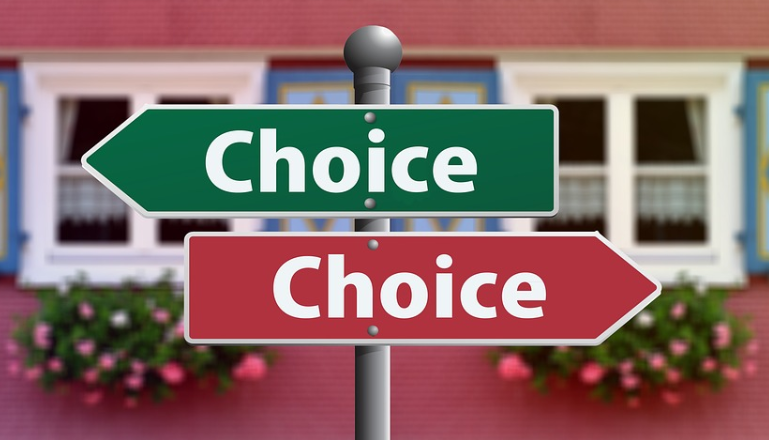 「Choice」の看板